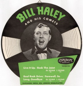 Bill Haley - London Werbeaufsteller