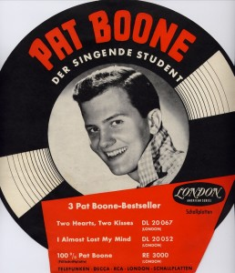 PAT BOONE Student LONDON