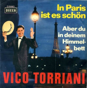 "Torriani ""In Paris ist .001"